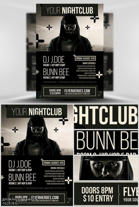 Flyer Template - Urban Club