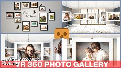 VR 360 Photo Gallery - Project for After Effects (Videohive)