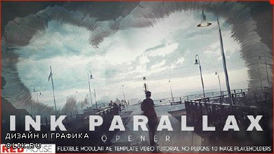 Ink Parallax Opener - Project for After Effects (Videohive)