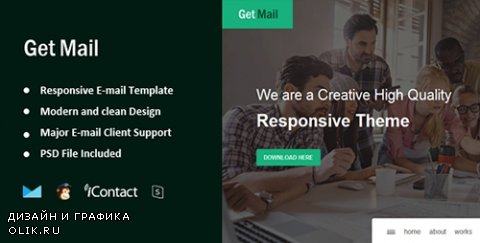 t - Get Mail v1.0 - Responsive E-mail Template + Online Access - 16026687