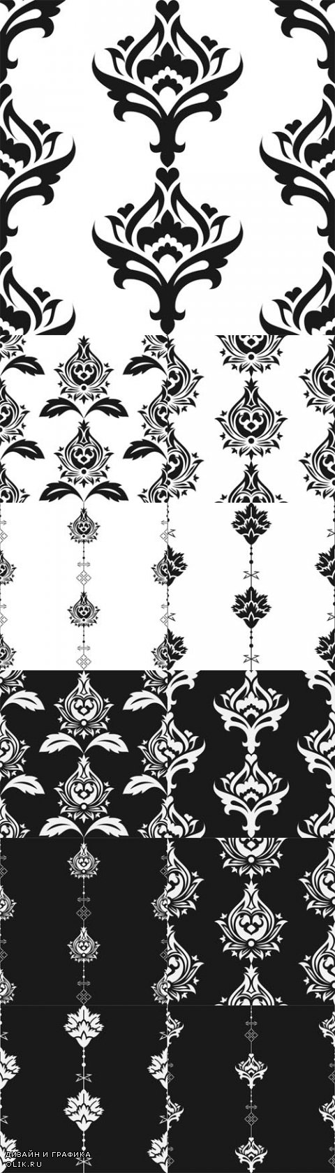 Vector Seamless eastern style pattern. Arabic ornament