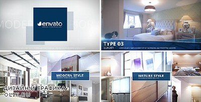 Modern Interior - Photo Gallery - Project for After Effects (Videohive)