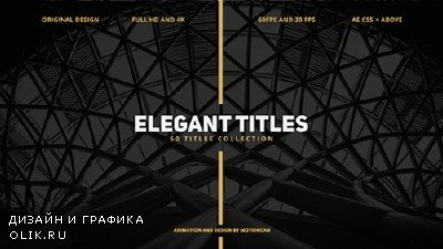 50 Elegant Titles - Project for AFEFS (Videohive)
