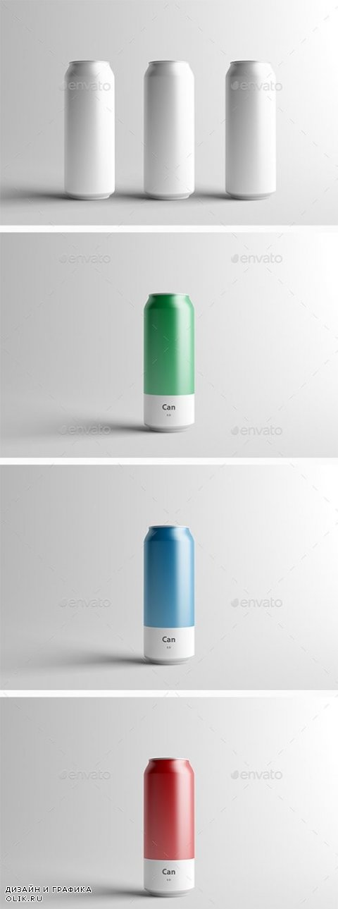 Can Mock-Up - 500ml - 16701857