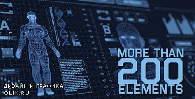 Sci-fi Interface HUD Package - Project for After Effects (Videohive)