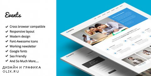 t - Events - Responsive Landing Page Template (Update: 29 August 14) - 8157937