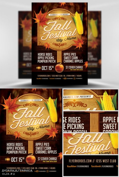 Flyer Template - Fall Festival 3