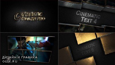 Cinematic Trailer Pro - Project for After Effects (Videohive)