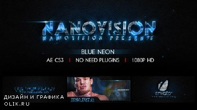 Blue Neon V.1 - Project for AFEFS (Videohive)
