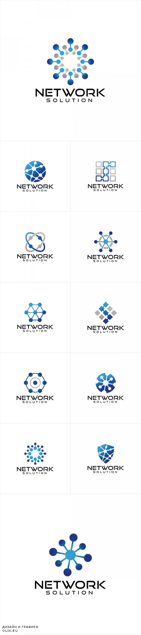 Vector Network Logo Design