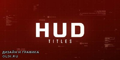 Hud Titles - Project for AFEFS (Videohive)