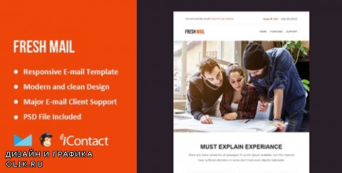 t - Fresh Mail v1.0 - Responsive E-mail Template + Themebuilder Access - 12125700