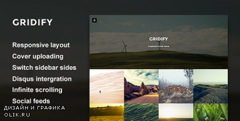 t - Gridify - Fullsceen Grid Theme (Update: 24 May 16) - 9705744