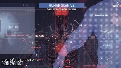 Human Scan V2 - Project for After Effects (Videohive)
