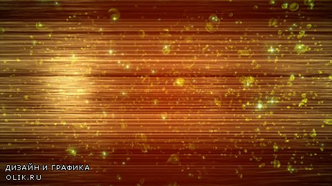 Brown Gold Fragments Shining Motion Background