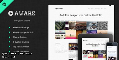 t - Aware v1.5.4 - Responsive Wordpress Portfolio Theme - 1049029