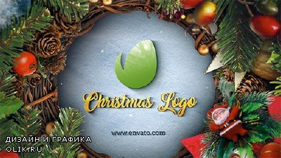 Christmas & New Year Logo - Project for AFEFS (Videohive)