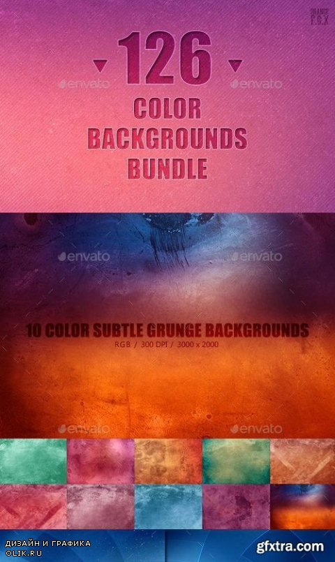 126 Color Backgrounds