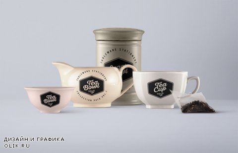 Tableware Psd Mockup Vol 7