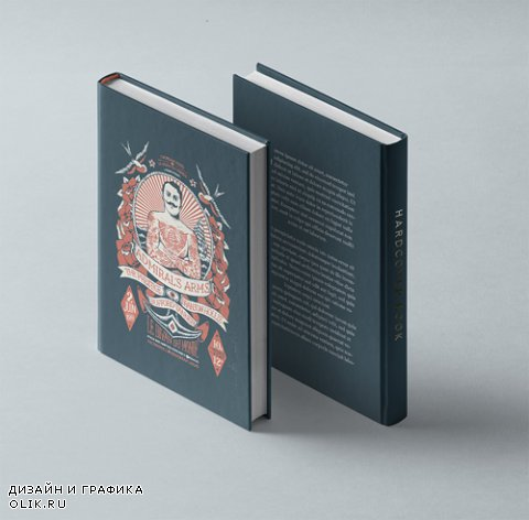 Book Hardcover B6 Vol 1