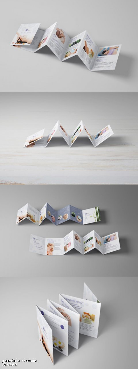 Square Mini Brochure Seven Panel Mockups 01