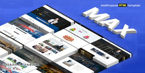 t - Max v1.0 - Multipurpose HTML5 Template - 19272198