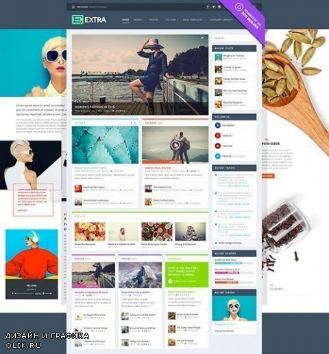 ElegantThemes - Extra v2.0.27 - WordPress Theme