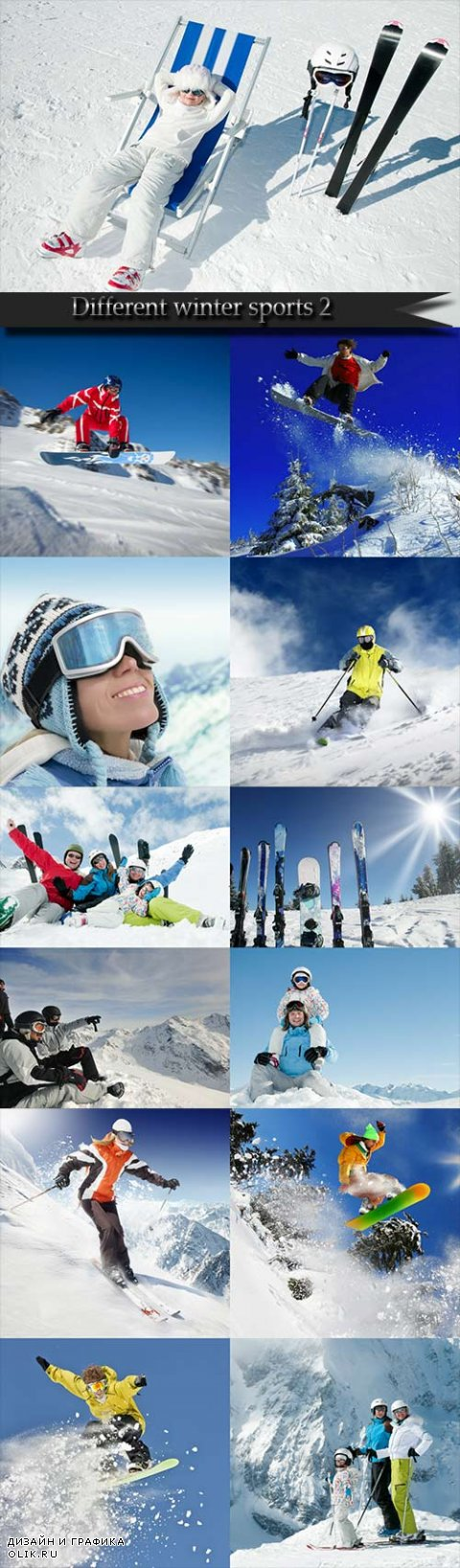 Different winter sports 2