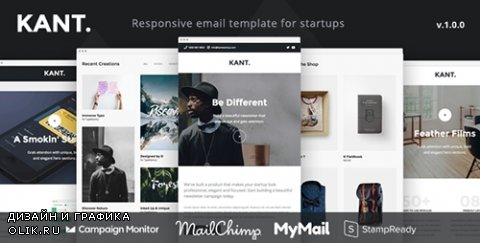 t - Kant v1.0.0 - Responsive Email for Startups with 50+ Sections + StampReady Builder + MailChimp Integration - 19326277