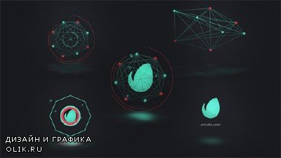 Connected Shapes Logo Reveal - Project for After Effects (Videohive)