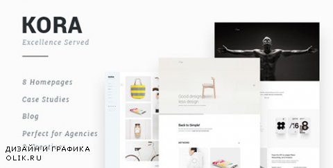 t - Kora v1.1 - Portfolio Template for Agency & Freelancers - 13313874