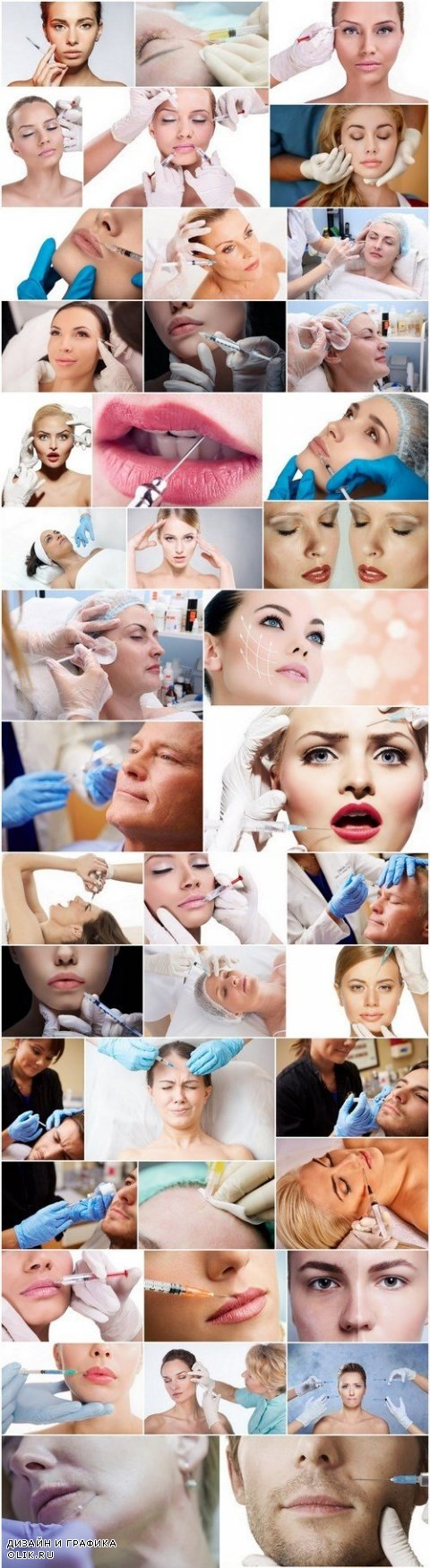 Cosmetology and Botox Injection - Set of 44xUHQ JPEG Professional Stock Images