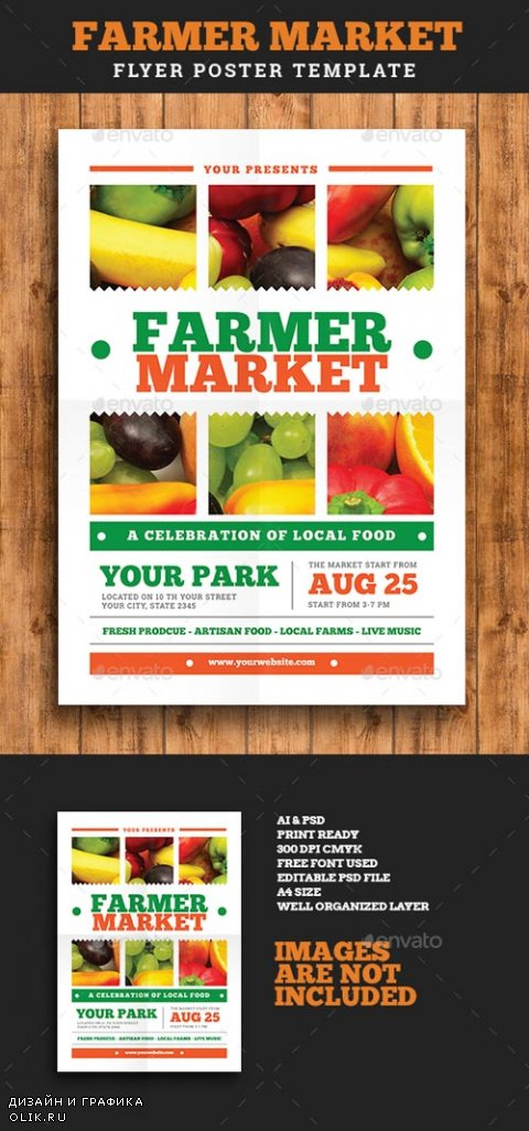 Farmer Market Event Flyer Vol 02 19343746