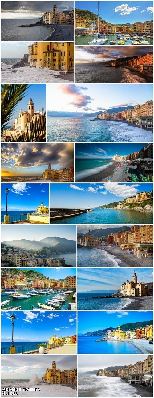 Italian Travel - Camogli, Set of 20xUHQ JPEG Professional Stock Images