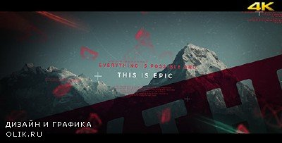 This is Epic - Cinematic Slideshow - Project for AFEFS (Videohive)