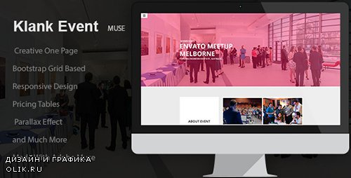 TF - Klank Event v1.0 - Event Landing Page Muse Template - 12784024