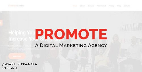 t - Promote v1.1 - Digital Marketing Agency - 18908301