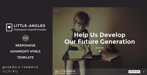 TF - Little Angles v1.0 - Multipurpose Non Profilt Template - 12416590