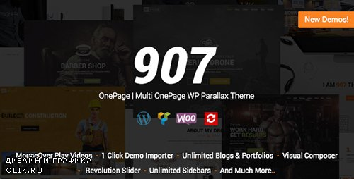 t - 907 v4.0.21 - Responsive Multi-Purpose WordPress Theme - 4087140