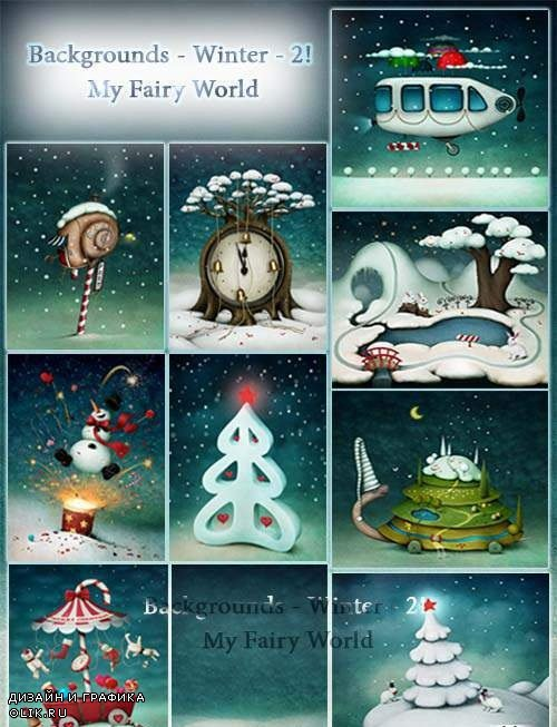 Backgrounds - Winter - 2! My Fairy World