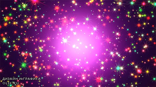 Saturated Colorful Stars Space