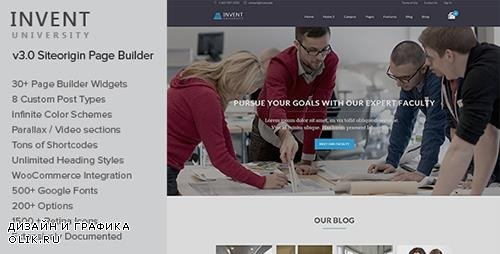 t - Invent v3.2 - Education Course College WordPress Theme - 9263796