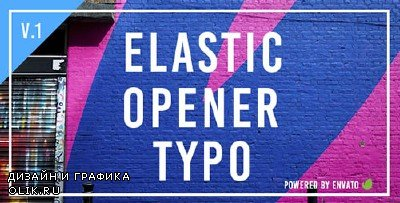 Elastic Opener Typography - Project for AFEFS (Videohive)