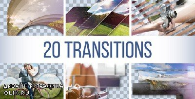 Transitions Pack 18678821 - Project for AFEFS (Videohive)