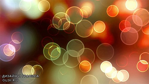 Colorful bokeh HD