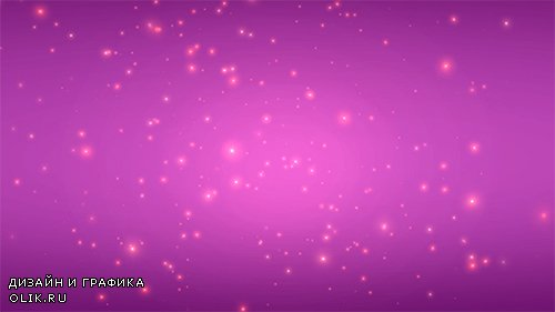Purple Pink Flying Stars