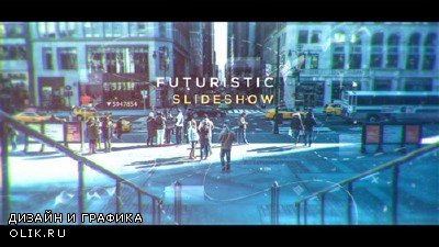 Futuristic Slideshow 19591528 - Project for AFEFS (Videohive)