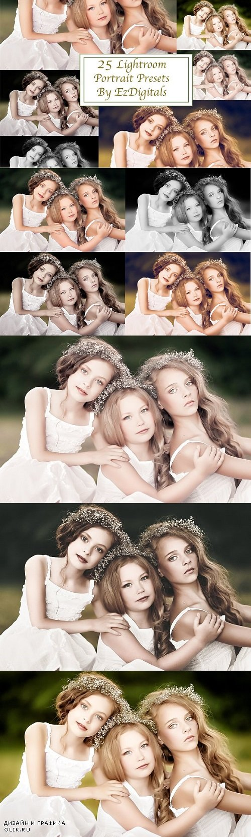 25 Portrait Lightroom Presets 1418304