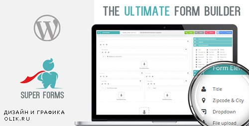 CodeCanyon - Super Forms v2.9.0 - Drag & Drop Form Builder - 13979866