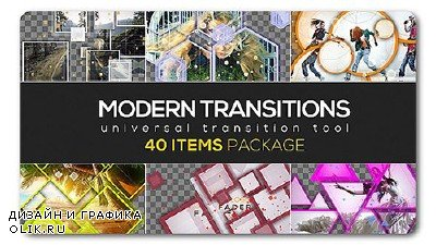 Modern Transition Pack | 40 items - Project for AFEFS (Videohive)